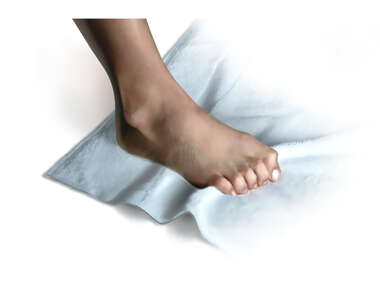 Foot Exercise: Towel Curl with Toes