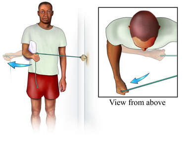 Rotator Cuff Exercise: External Strengthening