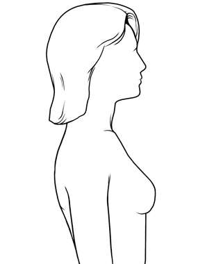 Female Figure - Lateral Outline